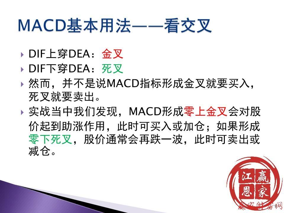 macd金叉选股公式(死叉)