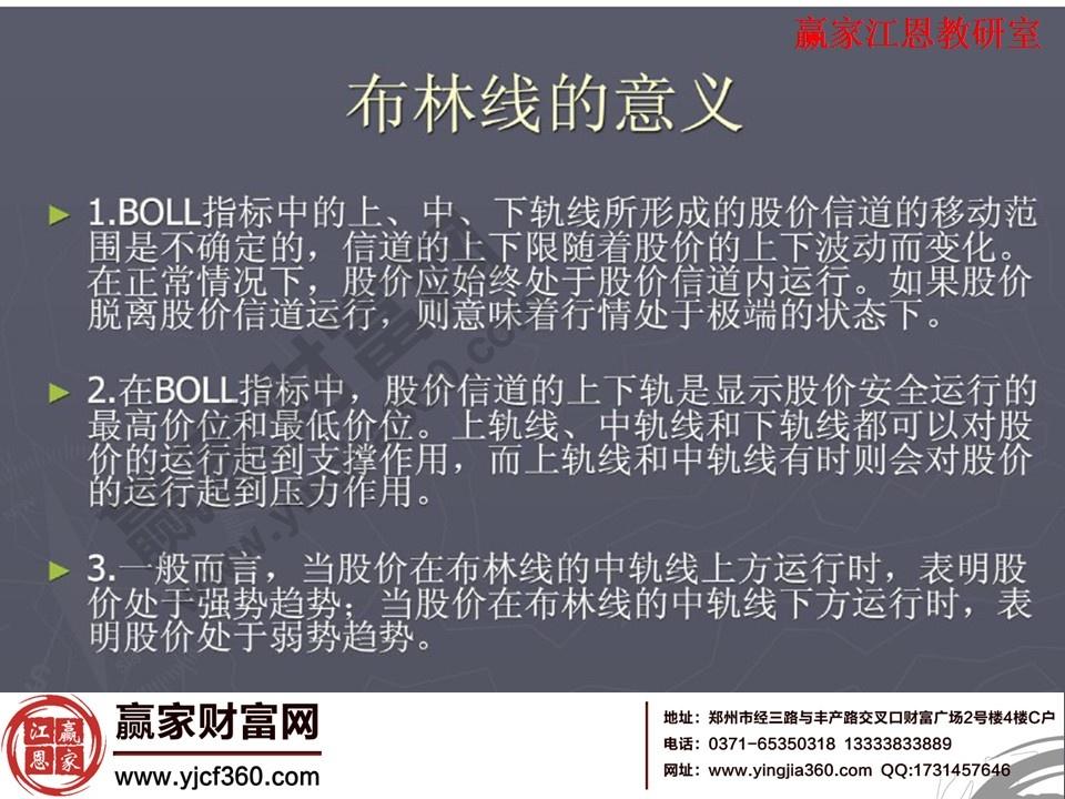 boll指标详解图解