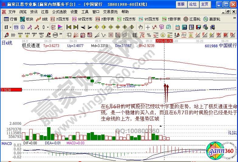 中国银行极反通道