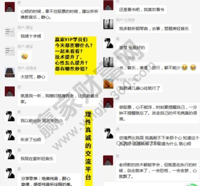 赢家江恩客户心态调节